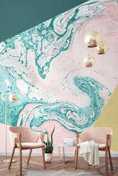 Marble Wallpaper - Pinterest Predicts The Top Home Trends Of 2017 - Lonny