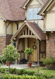 smaller Border Oak porch