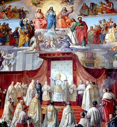 """theraccolta: """" Pope Pius IX declares the Dogma of the Immaculate Conception on December 8, 1854 """" Contrary to what many modern Protestants believe, the Catholic Church did not 'invent' the dogma of the Immaculate Conception, but rather confirmed what..."""