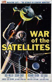 PHOTO MAGNET WAR OF THE SATELLITES 1958 Science Fiction Drama