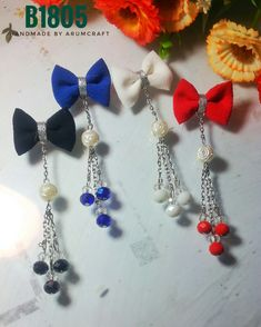 Hair Pieces, Headpiece, Brooches, Diy And Crafts, Jewelery, Dangles, Gardens, Bows, Drop Earrings