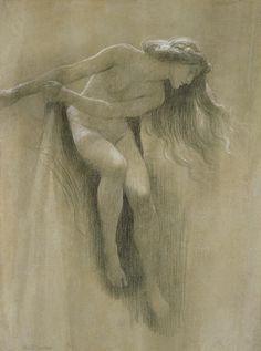 Female Nude Study, John Robert Dicksee