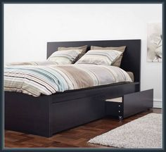 Tremendous Malm Bed Frame Design Interior More Design http://biancafidler.com/malm-bed-frame-design-interior/