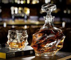 Everest Whiskey Decanter Set | DudeIWantThat.com