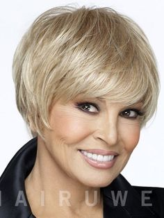 Finale Petite Cap Wig by Raquel Welch Lace Front Wigs. A short layered page wig in a petite cap head size features a monofilament top and lace front construction. From the Raquel Welch Sheer Indulgence Collection, the Finale Petite Cap Wig offers a flawless hairline and the look of natural hair growth. A Memory Cap ll provides a custom fit. Velvet ear tabs, and extended velvet nape offer all day comfortable wear. @$290.90