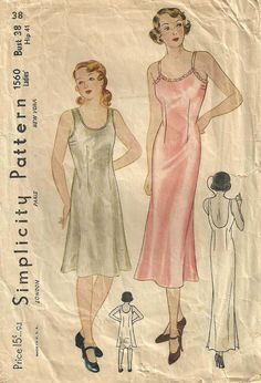 Simplicity 1560 Vintage 1930s Sewing Pattern by studioGpatterns, $22.50