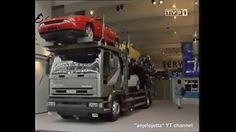 Fiat Coupe in a truck