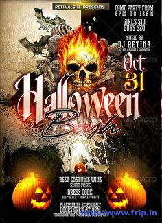 ====== Halloween Special Flyers Templates ======  Hey friends, Are you ready to celebrate Halloween with us ?? Then we have awesome Halloween Flyers Templates which will give great look to your Halloween party.These Halloween Flyers are perfect for all kinds of Halloween party. Check out this post to choose your favorite flyers from our list.