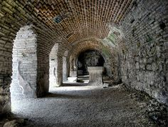 Inside the Roman Thermae of Varna