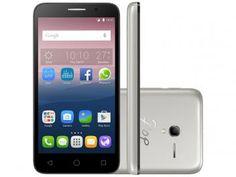 """Smartphone Alcatel Pop3 5 8GB Dual Chip 3G - Câm. 8MP + 8MP Selfie Tela 5"""" Desbl. Tim"""