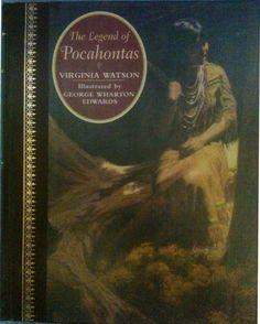 legend of pocahontas Princess Pocahontas, Classic Books, Childrens Books, Mona Lisa, Illustration, Artwork, Painting, Children's Books, Work Of Art
