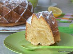 Más dulce que salado: Lemon Curd And Crème Fraîche Bundt Cake