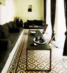 Morocccan floor pattern....