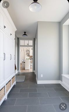Pin by Alexandra Luna on Home Netherlands in 2020 Gray painted walls Mudroom flooring Mudroom paint color