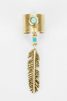 Yuma Feather Cuff Earring Online Only urban outfitters