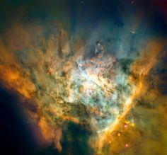 Maelstrom of Star Birth Name: Messier 42, Orion Nebula Type: • Milky Way : Nebula : Type : Star Formation • X - Nebulae Images Distance: 1400 light years Credit: NASA, ESA