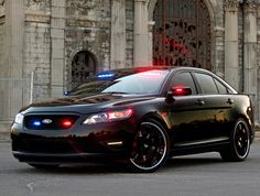 Undercover Ford Police Car
