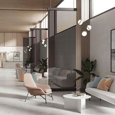 Perfect Office Divider Design Ideas More info, you can go directly to the we… – Office lounge Corporate Office Design, Office Space Design, Modern Office Design, Office Interior Design, Interior Exterior, Office Interiors, Office Dividers, Space Dividers, Office Partitions