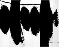 "Robert Motherwell - ""Elegy to the Spanish Republic"" Robert Motherwell, Meditation Art, Murals, Darkness, Spanish, Abstract Art, Artwork, Inspiration, Painting"