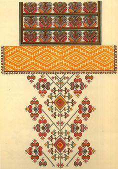 FolkCostume и вышивки: вышивка Zastawna округа, Cherniwtsi области, Буковина, Украина