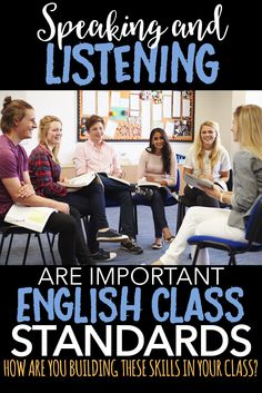 Use speaking and listening task cards to build in opportunities to work on this important part of the English class curriculum.