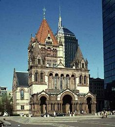 Trinity Church, the Boston landmark that was designed by Henry Hobson Richardson...