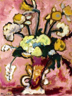 Floral Still LIfe Gabrielle Münter - 1935