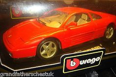 Very rare #burago diamond 1-18th 1/18 large scale #boxed #ferrari 348 tb red rare,  View more on the LINK: 	http://www.zeppy.io/product/gb/2/381565427690/