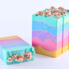 """""""Let's Talk Shells"""" - handmade soap by smallbatchsoaps"""