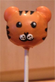 Tiger Cakepops
