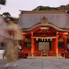 I love taking photos few minutes before night comes lights are so warm !  J'adore prendre des photos quelques minutes avant que la nuit ne tombe la lumière prend une belle teinte chaude unique !  #japan #japon #travel #kamakura #kanto #temple #autumn #night_shots #nightiscoming #buddhism #longexposhots #longexposure #longexposure_shots #japaneselights #japaneseview #japangram #japanfocus #japankudasai #tokyocameraclub #eos70d