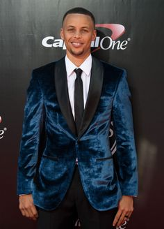 celebritiesofcolor: Stephen Curry attends the 2016 ESPYS at...