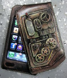 iPhone Case, Steampunk feel  by `catbones