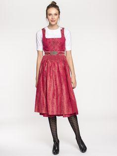 Elegantes Dirndl in schimmerndem Pink von Gottseidank online kaufen ✓  Kostenloser Versand ✓ Beratung. Größte e1c56896c3