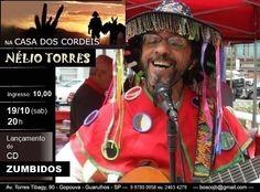 Nélio Torres na Casa dos Cordéis. Participe!