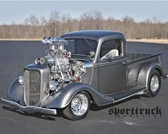 Blown 36 Ford