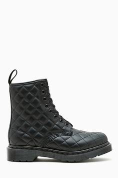 Id I was going to wear Dr. Martens... it would be these. Coralie 8 Eye Boot