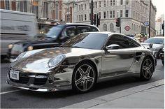 Chrome Finish Porsche