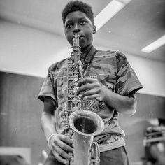 Reposting @fusicology: Kobie Dozier, recent graduate of @treeacademy and 1st year #hamiltonhighschool student will play a special pre-show performance on @fordtheatres new terrace on 9.17 in #LA @goasifproducer.  Ticket link in bio. . . . #AstralProgressions #youth #music #treeacademy #jazz #concerts #kids #teens #tweens #arts #saxophone #practice #representationmatters #blackboyjoy #Infektd  . . Photo credit: @juliadillonphotography
