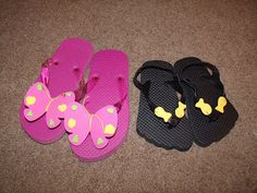 Easy summer flip flop kids craft diy