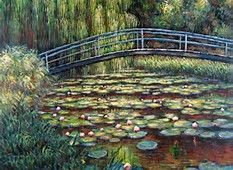 Image result for Monet Lily Pond Images