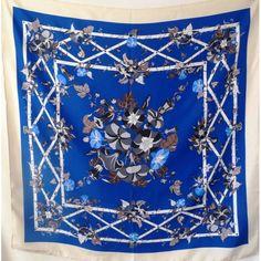 foulard en soie,accessoire, carré de soie, E. MARINELLA Napoli