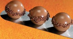 Crunchy Chocolate Pearls, original recipe created by L'Ecole Valrhona