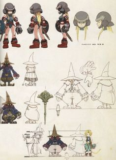 Final Fantasy Collection, Final Fantasy Ix, Final Fantasy Characters, Fantasy Concept Art, Fantasy Character Design, Character Concept, Character Art, Fantasy Art, Character Design References