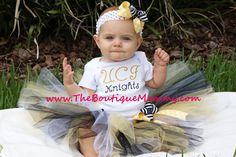 Our little girl is going to rock the UCF football games in this someday.