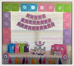 Friends Birthday Banner Girl Party Birthday by OwensGiftWrapping & Party Bliss] LEGO Friends Birthday Party | Lego friends birthday ...