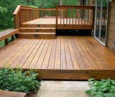 backyard deck ideas on a budget but opposite way