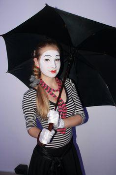 Mime Makeup, Costume Ideas, Costumes, Clowns, Albums, Joker, Female, Heart, Sweet