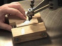 Scroll Saw Coin Cutting Jig Part Two - YouTube