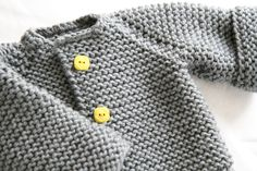 The Raglan Crew Neck Cardigan by Granny knits